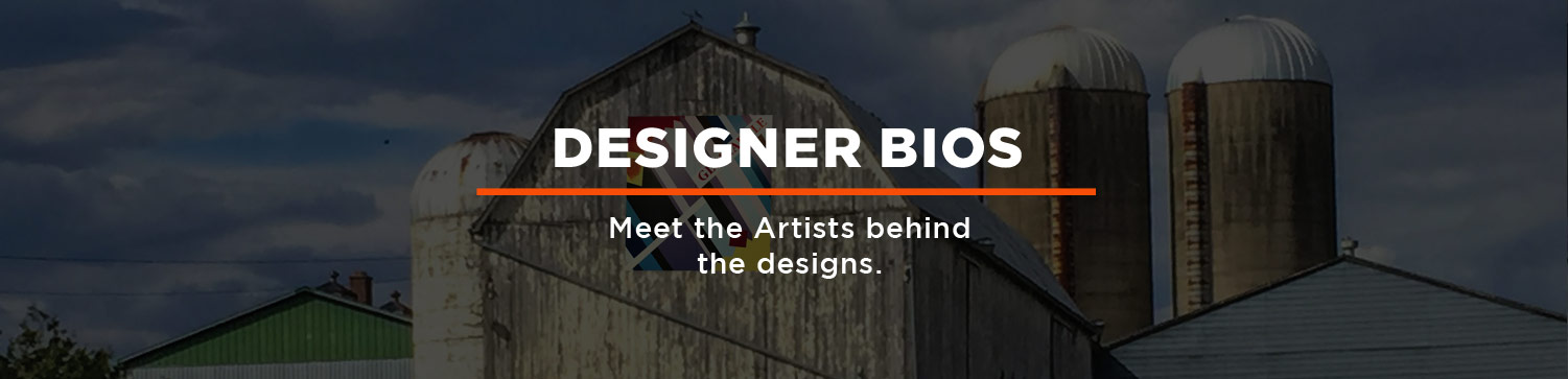 Designer Bios: Meet the Artists behind the designs.